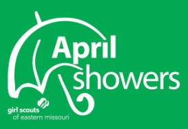 Girls Scouts - April Showers