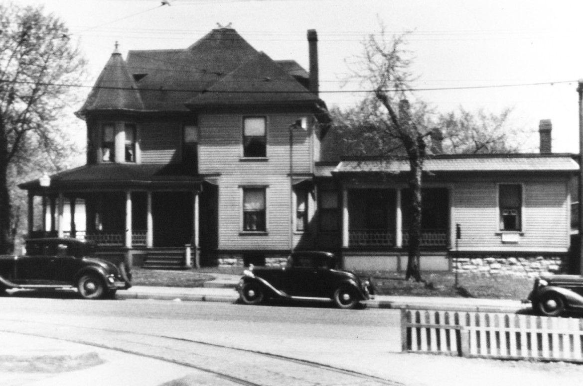 Judging by the similarities to the Clifford home it seems likely that Koester built this home for Dr. Cape.  It was located at the SE corner of Hazel and Sutton, now a parking lot.  The image is courtesy of the Maplewood Public Library.