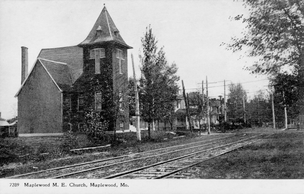 It is not known if Koester built the first M.E. church shown in this early postcard.  His home can be seen just beyond it on the other side of Sutton.  The number is just a stock number of the postcard.  Image courtesy of the Maplewood Public Library, I think but it might have come from Donna Rakowski.