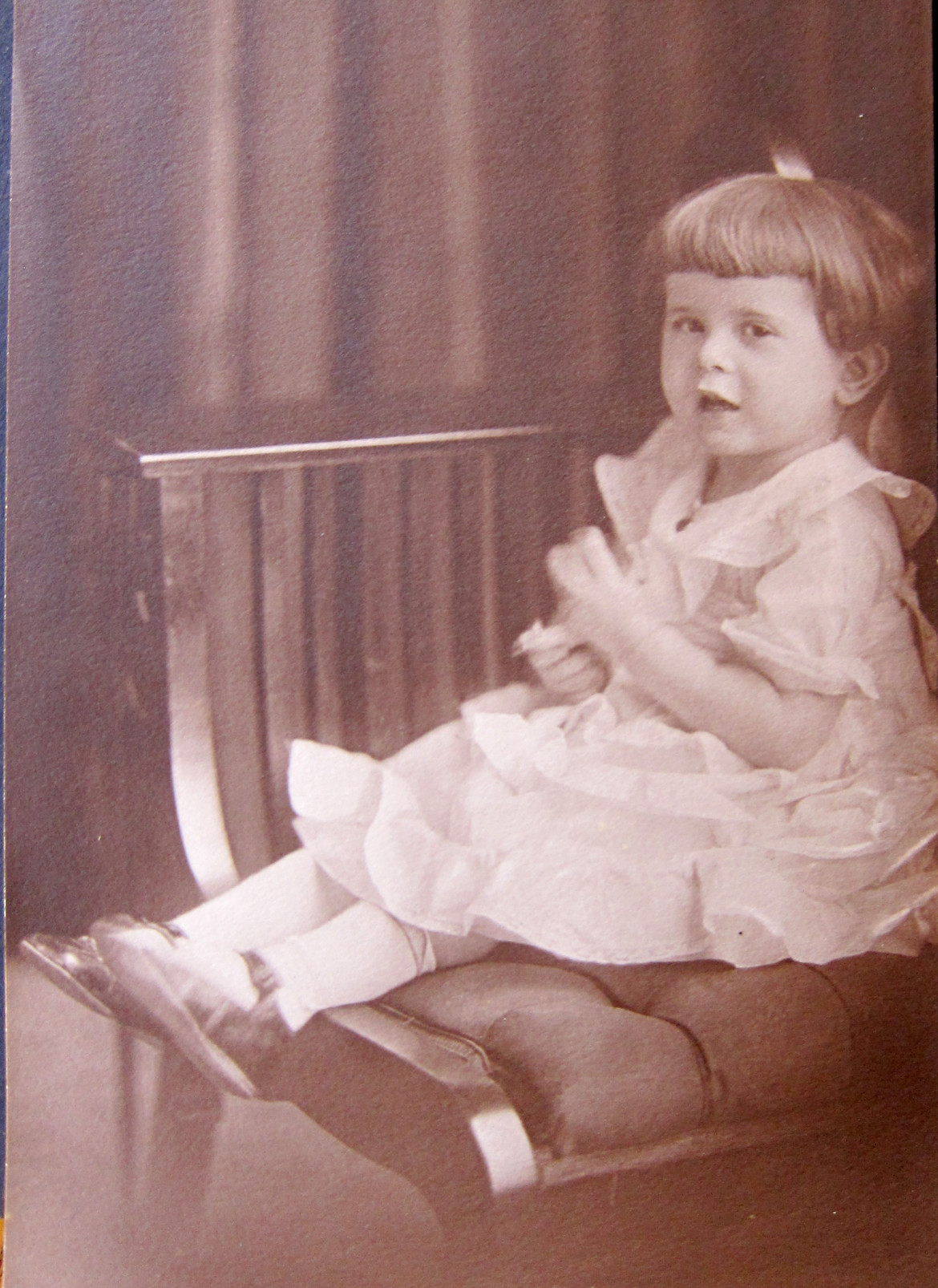 At some point, date unknown, they had a daughter, Marjorie.