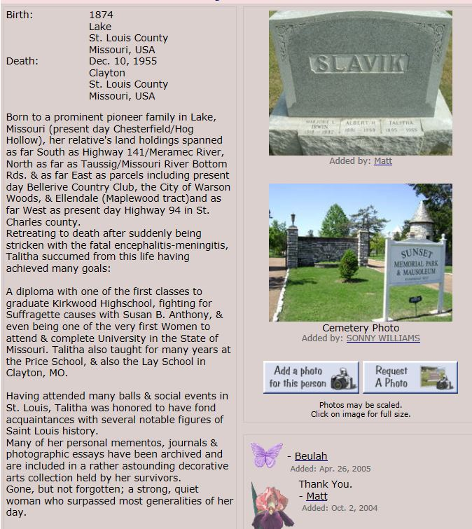 Thanks to Beulah for posting this on Find A Grave.