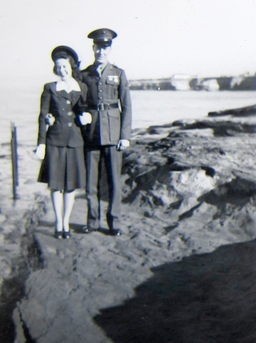 Bob and Marjorie, location unknown.