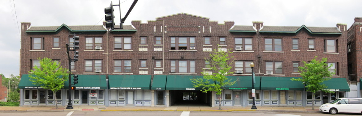The Maplewood Theater building in 2010.  Photo by Doug Houser