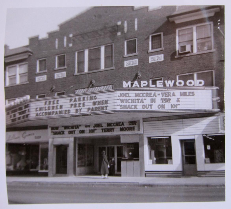 Showing Wichita in 1955.  Courtesy of Wanda Kennedy Kuntz