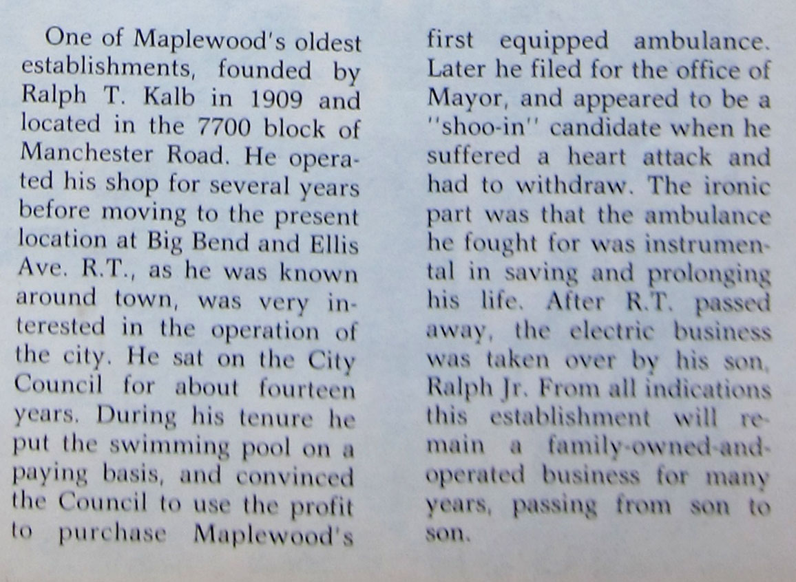 This is from a newspaper clipping that did not have information as to which paper or the identity of the author.