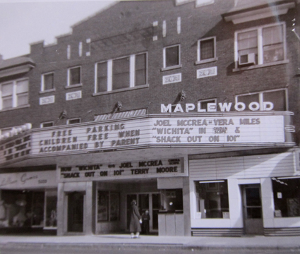 And here is the number one street sign that should be restored as closely as possible to the original - the marquee of the Maplewood Theater. I have given all my thought s on this in a previous post that you can read by clicking here.