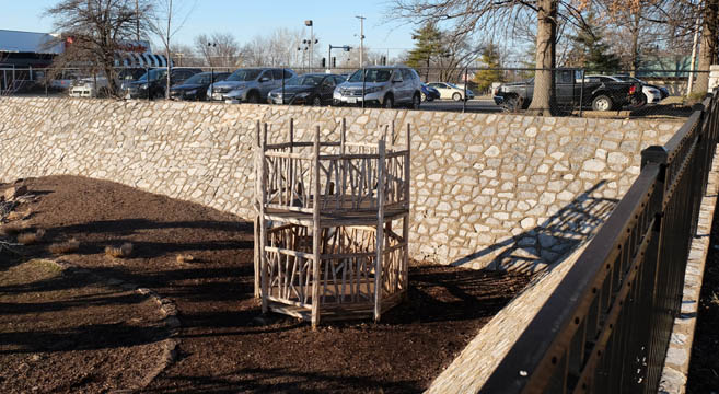 These beautiful stone walls border our early Childhood center on the northern and eastern sides.