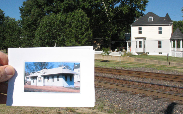 Here is a photo of the Maplewood Depot for those that are unfamiliar with it. Courtesy of the Maplewood Public Library.