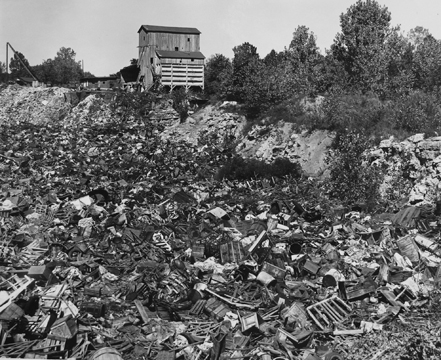 Here is almost the same camera location but now the quarry is almost filled. Courtesy of the Maplewood Public Library.