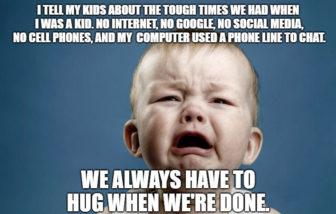 Sad Kids no Internet