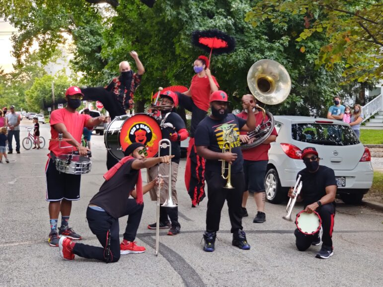 Red and Black Brass Band