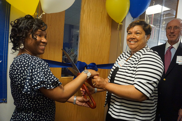 The Tocqueville Legacy Library Ribbon Cutting Ceremony at Hilltop Lutheran Neighborhood Center