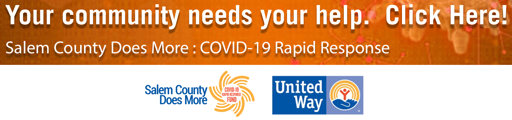 Give To The Salem County NJ Covid-19 Rapid Response Fund