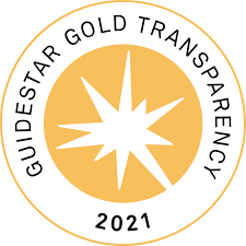 Guidestar Non-Profit Transparency Rating (Gold) for 2021