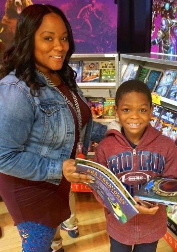 Stubbs Elementary School Student - Receives free books through My Very Own Library