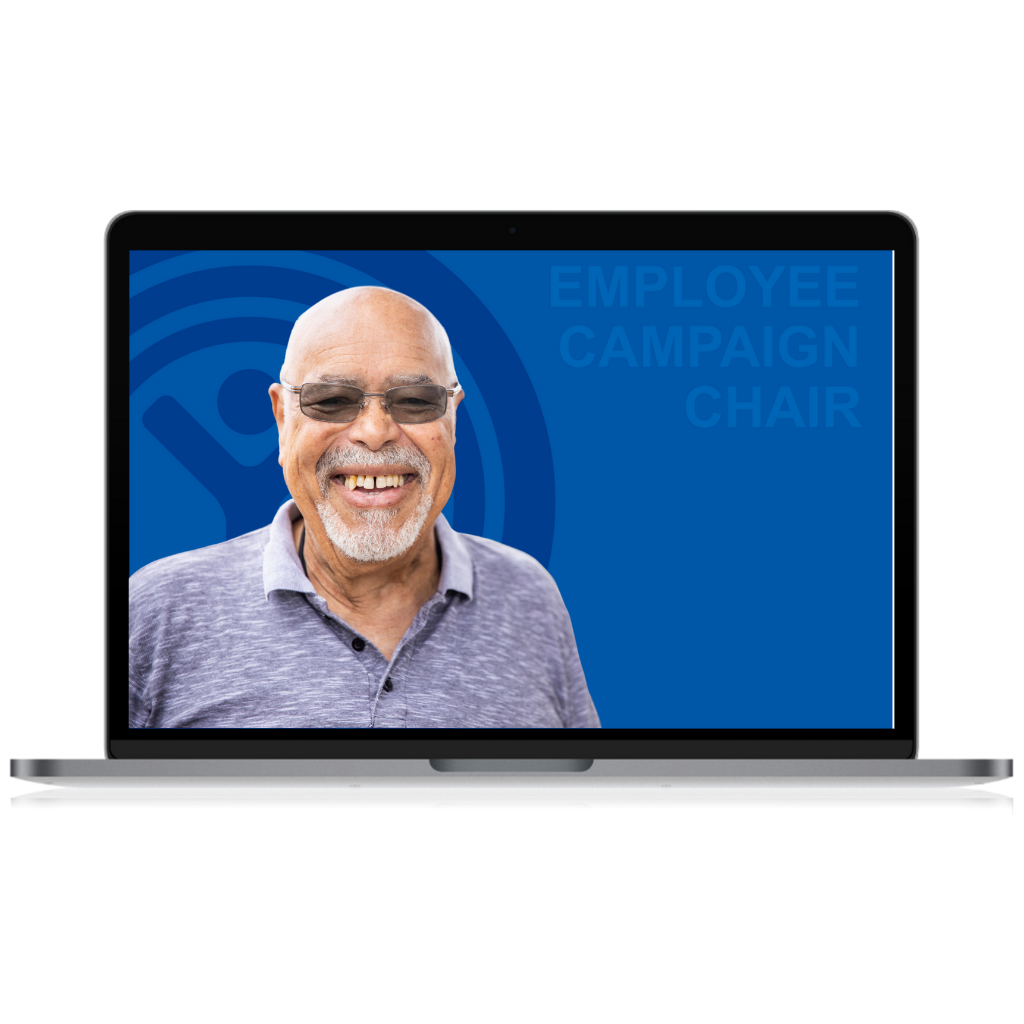 UWDE Employee Campaign Chair Virtual Background
