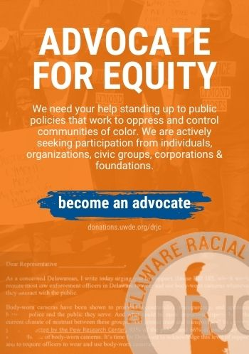 Advocate for equity