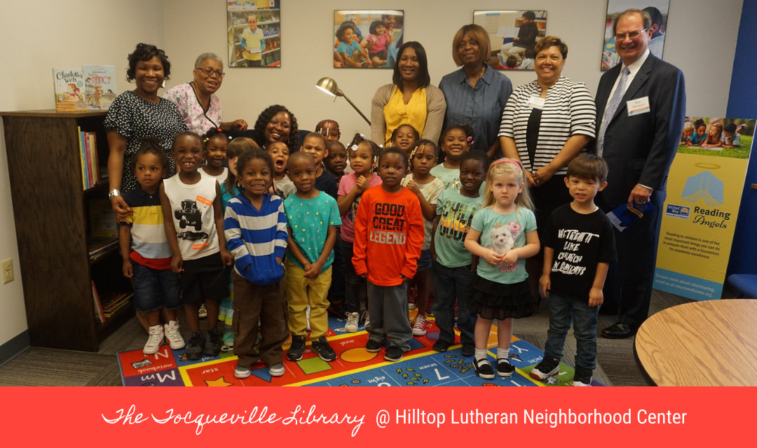 United Way of Delaware's Tocqueville Society unveils new library at Hilltop Lutheran Neighborhood Center in Wilmington, DE