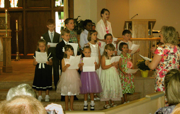 children's choir image