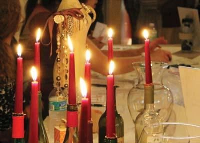 Faith and Wine candlelight