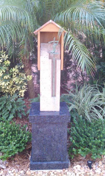 Prayer Garden Station of the Cross
