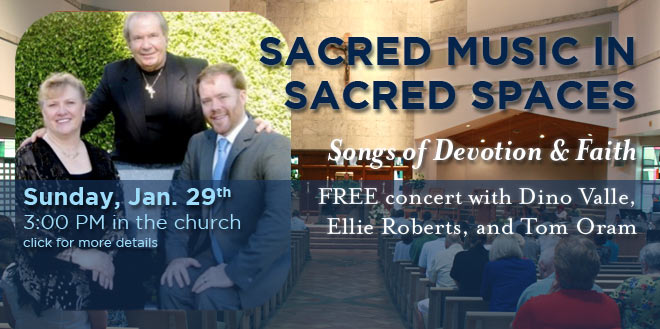Sacred Music in Sacred Spaces
