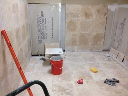 PLC bathroom update
