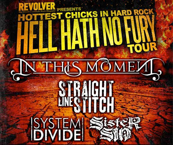 Hell Hath No Fury Tour feat In This Moment – REVIEW