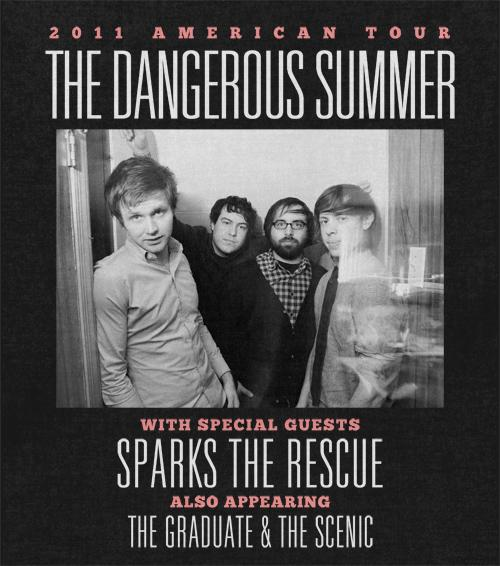 The 2011 American Tour feat The Dangerous Summer – REVIEW