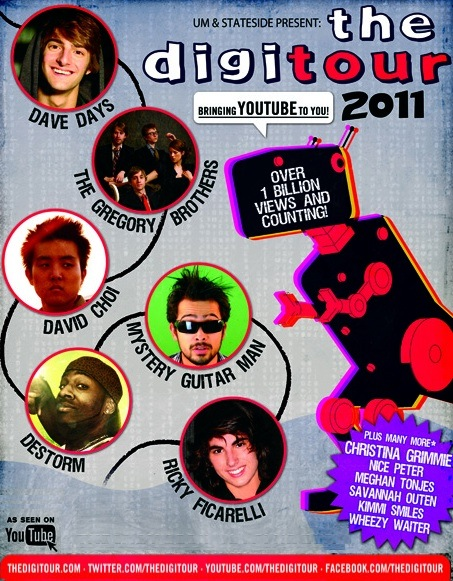 The DigiTour 2011 feat Dave Days – REVIEW