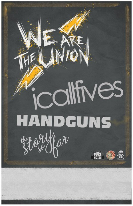 We Are The Union – 1st ROAD BLOG from their Summer Tour with I Call Fives