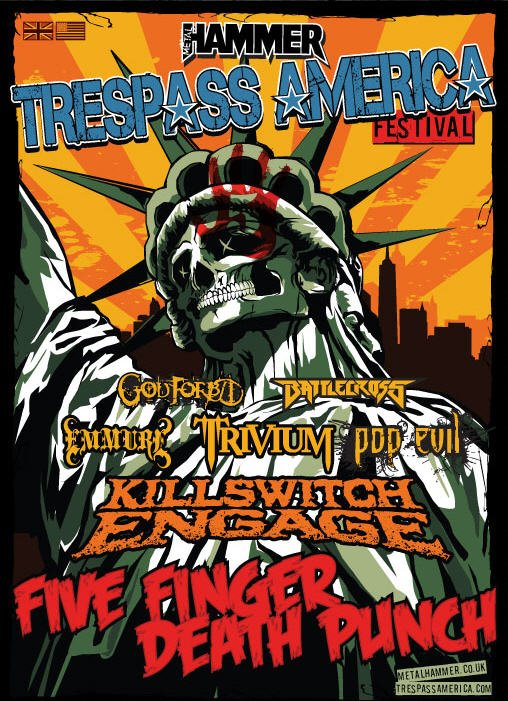 Trespass America Festival feat Five Finger Death Punch and Killswitch Engage – TOUR REVIEW