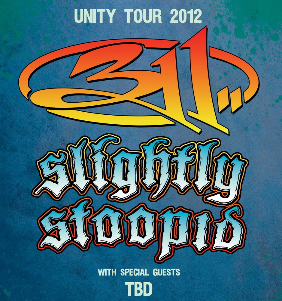 Unity Tour 2012 featuring 311 and Slightly Stoopid – TOUR REVIEW