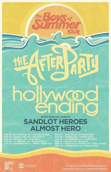 The Boys of Summer Tour featuring Hollywood Ending and The After Party – REVIEW