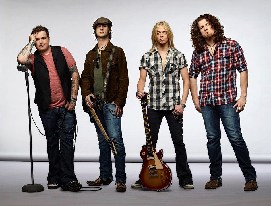 "Black Stone Cherry To Headline the ""HardDrive Live Tour"""