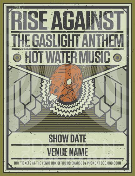 Rise Against Headline Tour 2012 feat. The Gaslight Anthem – REVIEW