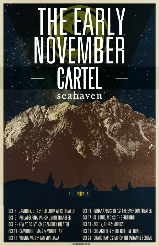 The Early November Fall Headline Tour – REVIEW