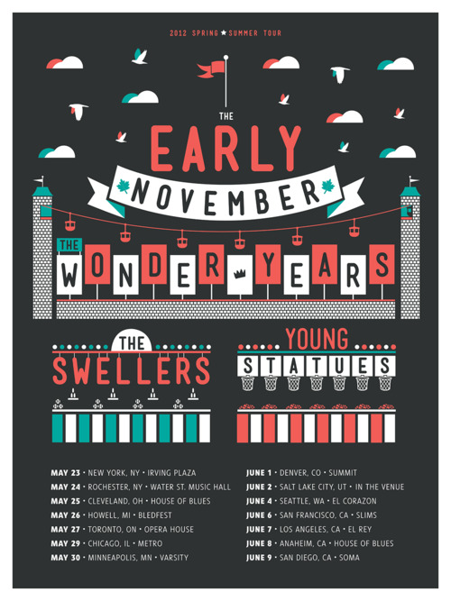 The Early November 2012 Spring/Summer Headline Tour – REVIEW