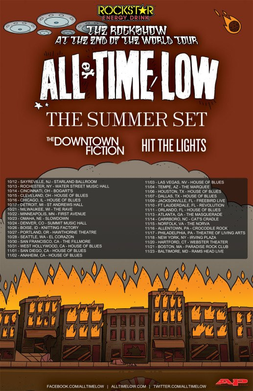The Rockshow at the End of the World Tour feat. All Time Low – REVIEW