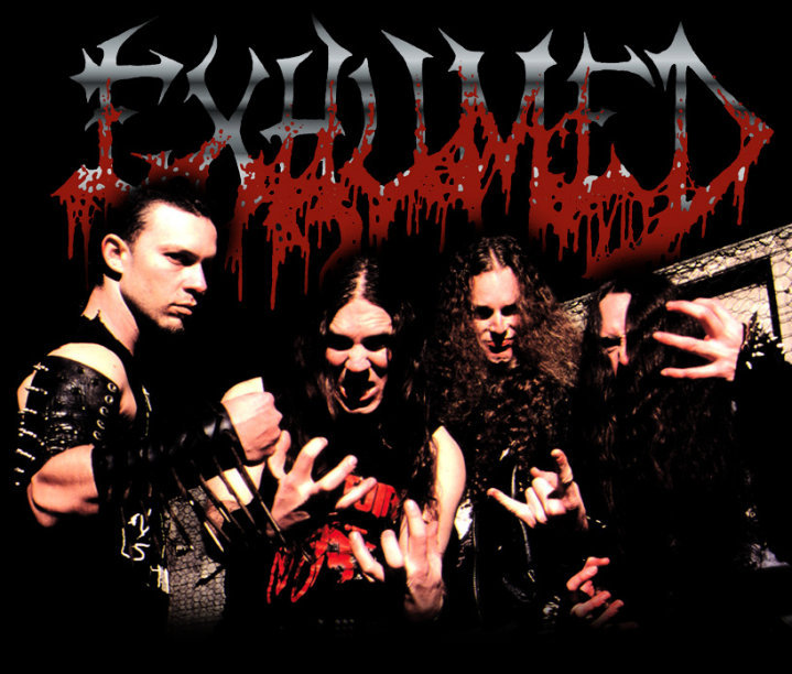 Exhumed Announces West Coast Winter Tour with Phobia