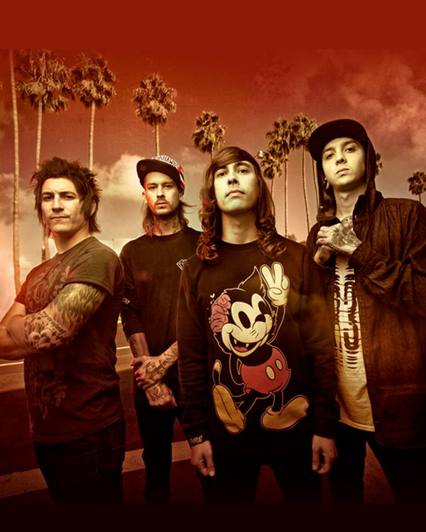 Pierce The Veil / Memphis May Fire / Letlive / Issues U.S. Tour