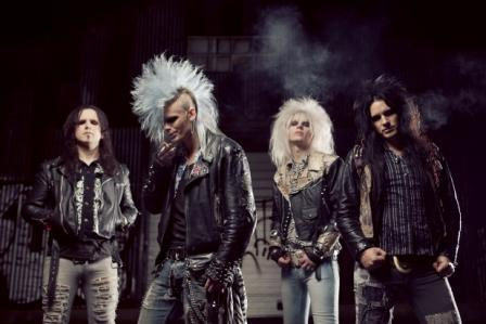 CrashDiet Announces European Tour with Sister