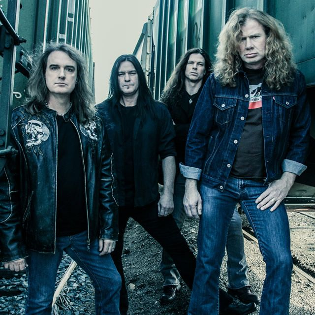 Megadeth Announces World Tour Dates