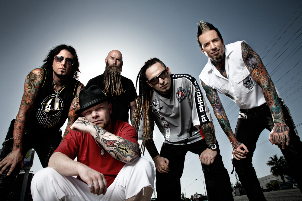 Five Finger Death Punch Signed CD Giveaway