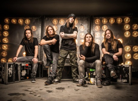 "Children of Bodom Announces 2014 ""Halo Of Blood Over North America Tour"""