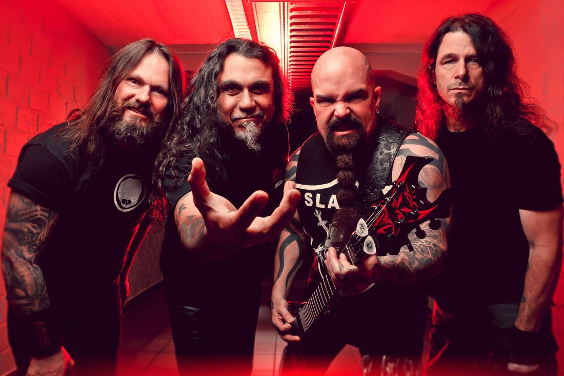"""Slayer Announce North American """"Repentless Tour"""""""