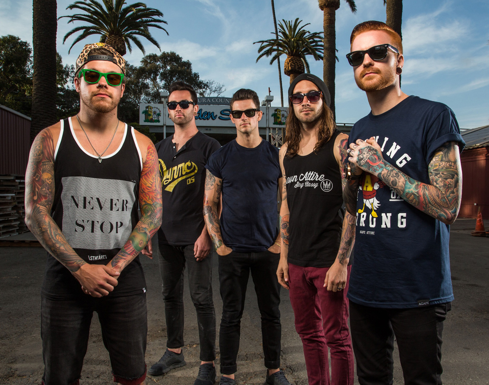 Memphis May Fire's 2016 Spring U.S. Tour – GALLERY