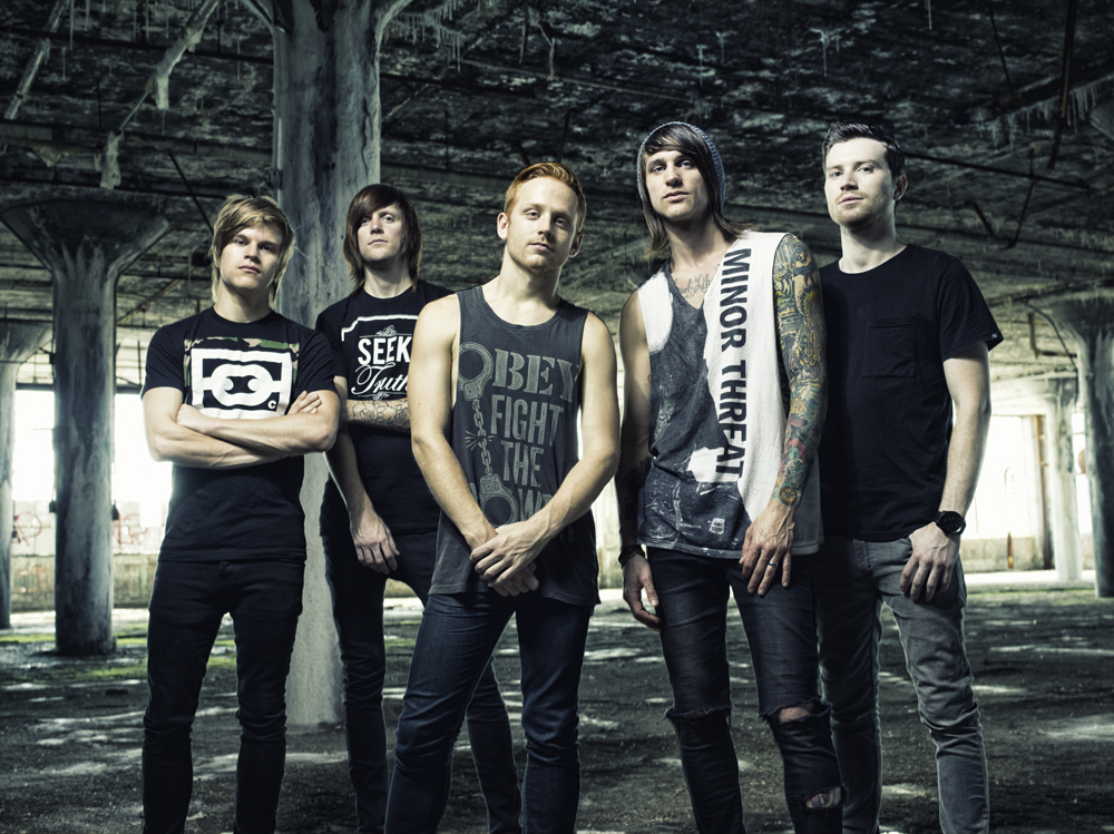 "Blessthefall Announce the ""Hollow Bodies Tour"""