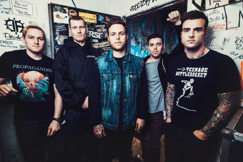 """Stick To Your Guns Announce the """"Better Ash Than Dust Tour"""""""