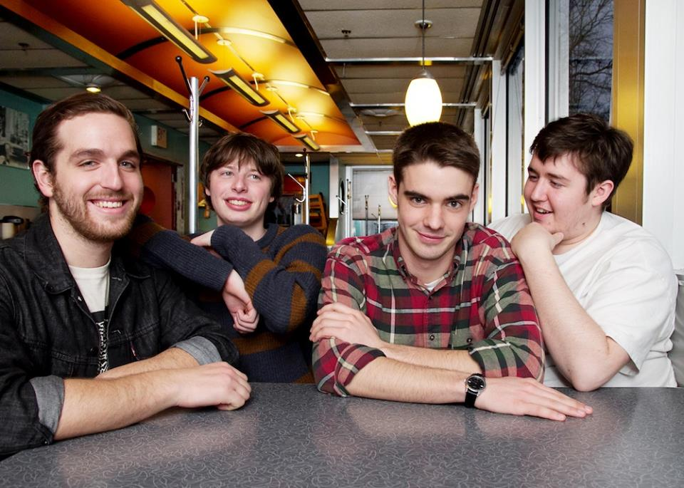 Modern Baseball's 2015 North American Headline Tour – GALLERY